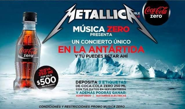 METALLICA To Perform In Antarctica?